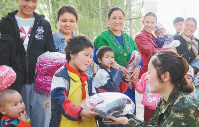 Young official lifts Xinjiang village out of poverty