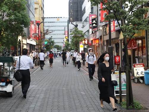 New COVID-19 cases in Tokyo top 50 for 5th straight day