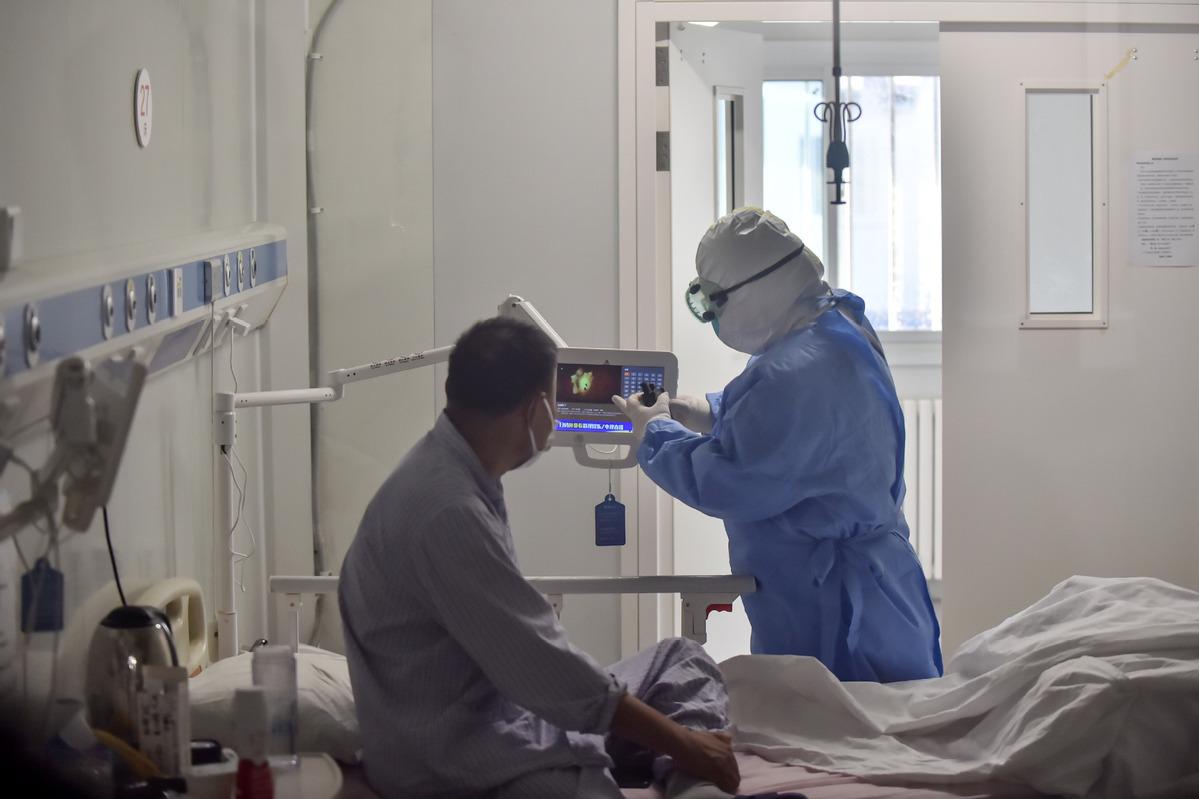 2nd patient from recent virus cluster in Beijing discharged