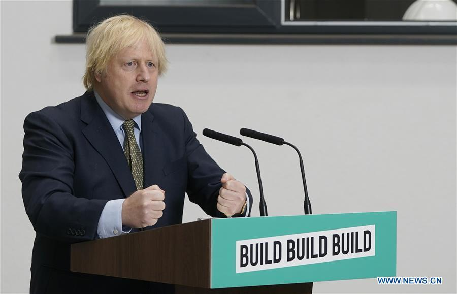 UK PM unveils 5-bln-pound plan to fuel economic recovery