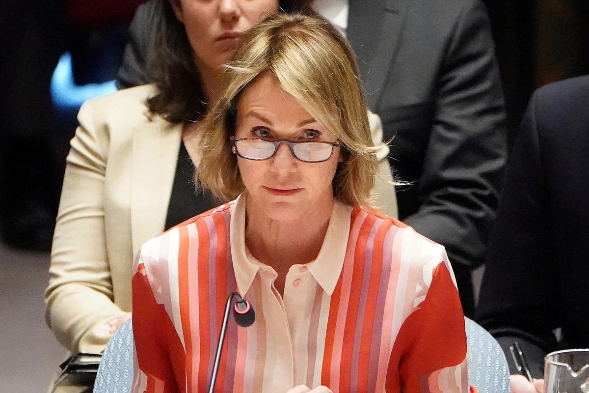 China rebuts comments at UN by US representative