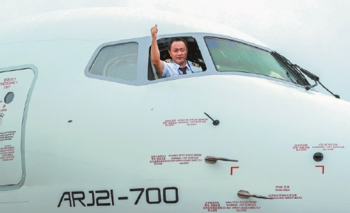 Pilots ready to believe in a jet plane