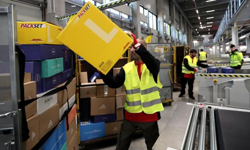 DHL Express halts shipments from China to India after customs delays