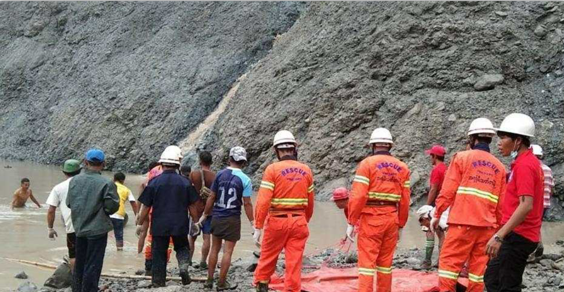 Death toll of massive landslide rises to 146 in Myanmar's northernmost state