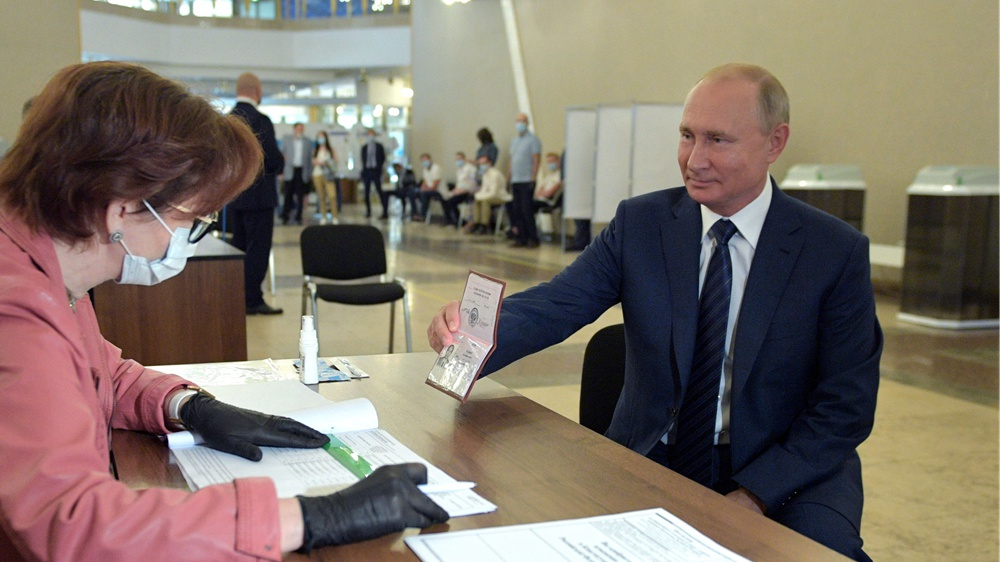 Nearly 78 pct of Russians support constitutional amendments: official data