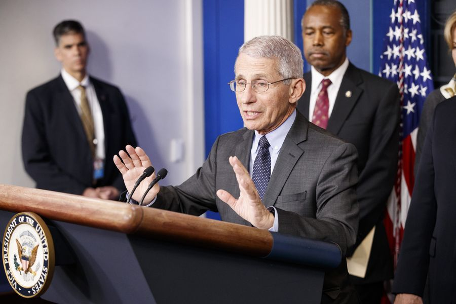 Fauci warns US COVID-19 cases could 'go up to 100,000 per day'