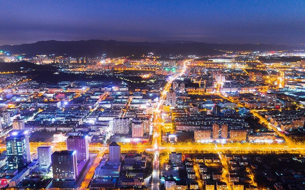 In pics: Stunning night view of Weihai