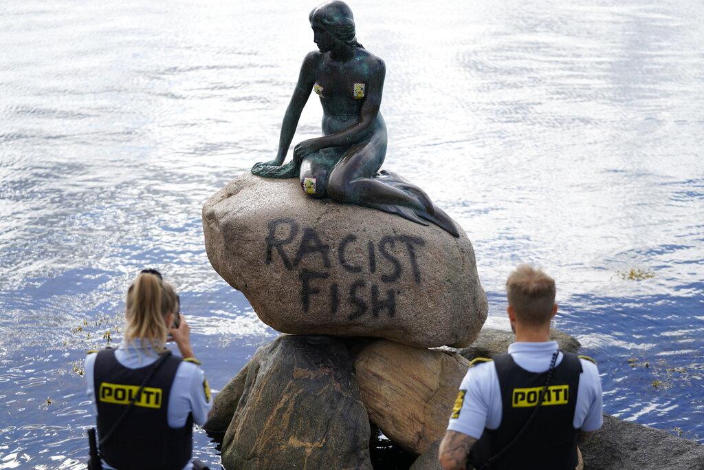 Denmark: Statue of Little Mermaid vandalized again