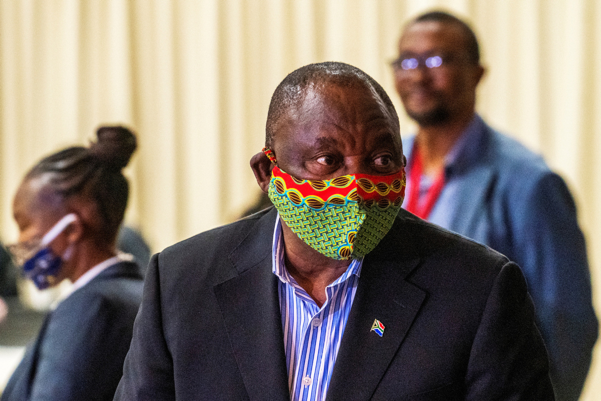 S. African president extends troop deployment to help enforce COVID-19 lockdown