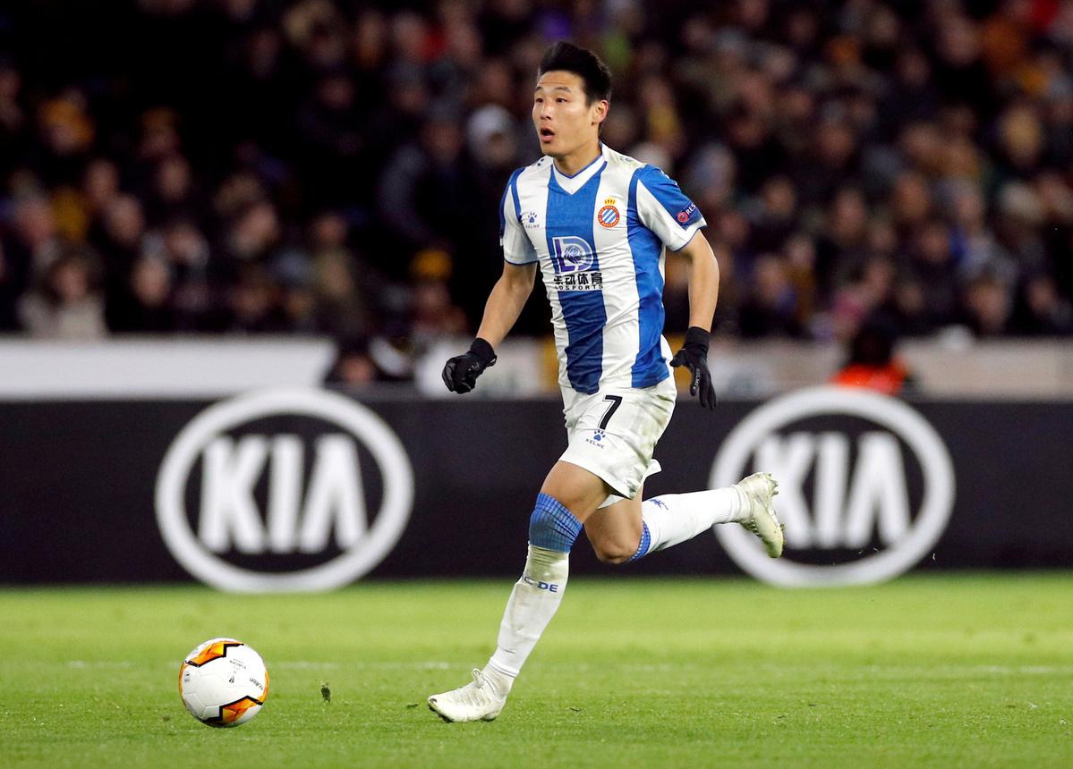 'If Espanyol needs me, I will stay,' says Wu Lei