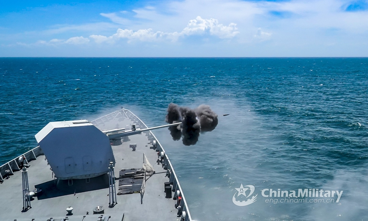 US aircraft carrier exercises in South China Sea show double standards: experts
