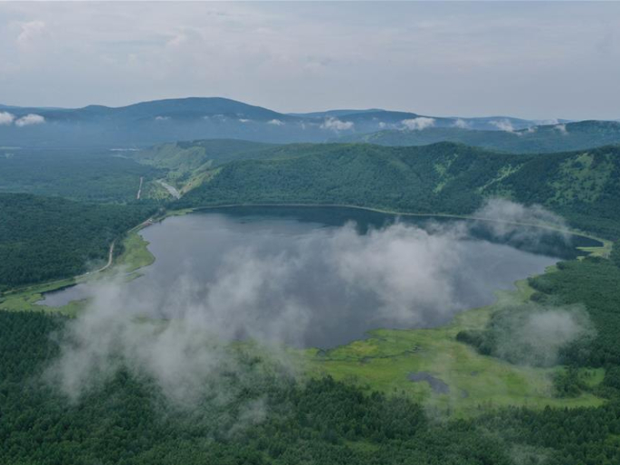 Scenery of Arxan National Forest Park in Inner Mongolia