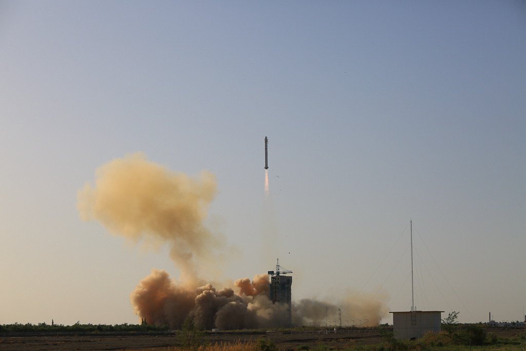 China launches satellite for space environment study