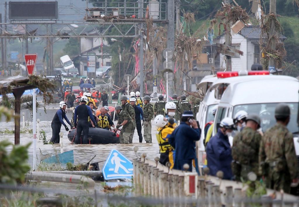 16 dead in Japan as heavy rain triggers floods, mudslides: media