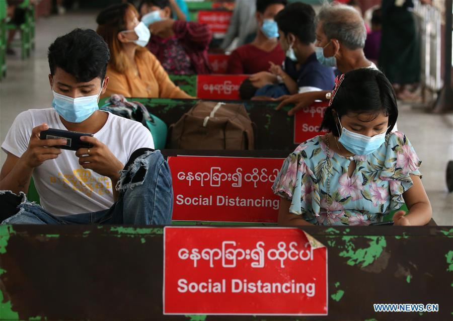 Myanmar reports 7 new imported COVID-19 cases, 313 cases in total