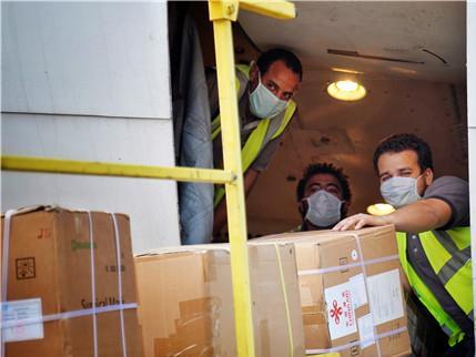 China delivers anti-coronavirus medical aid to Arab League