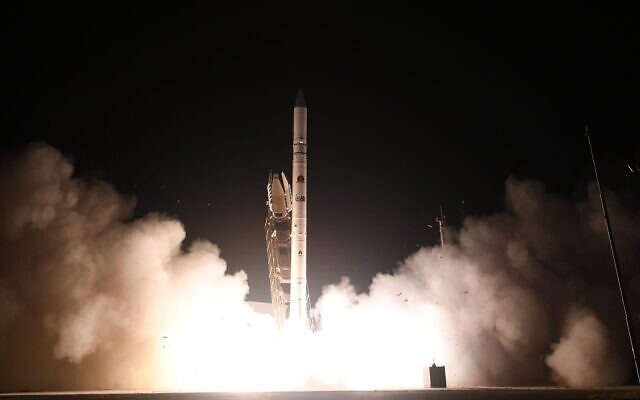 Israel announces launch of new satellite
