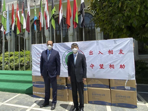 China delivers anti-coronavirus medical aid to Arab League