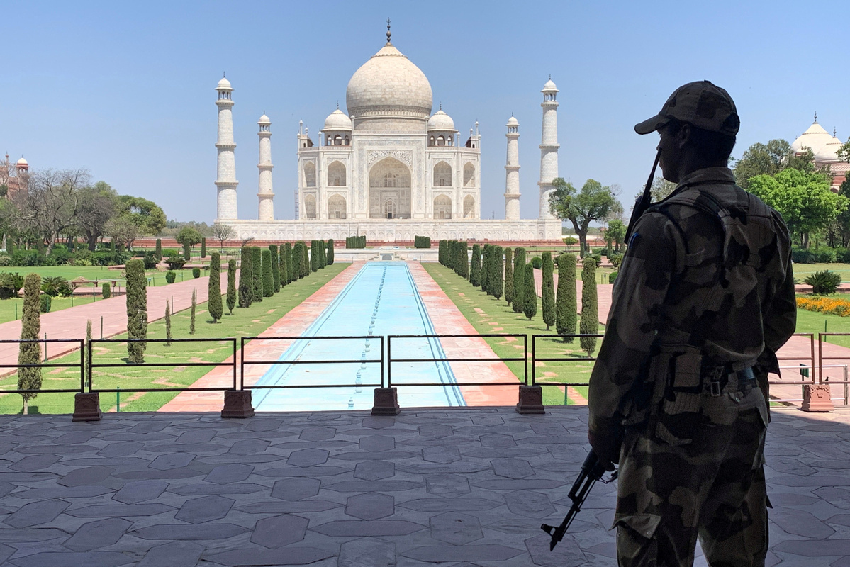 Taj Mahal remains closed as India becomes third-hardest-hit country