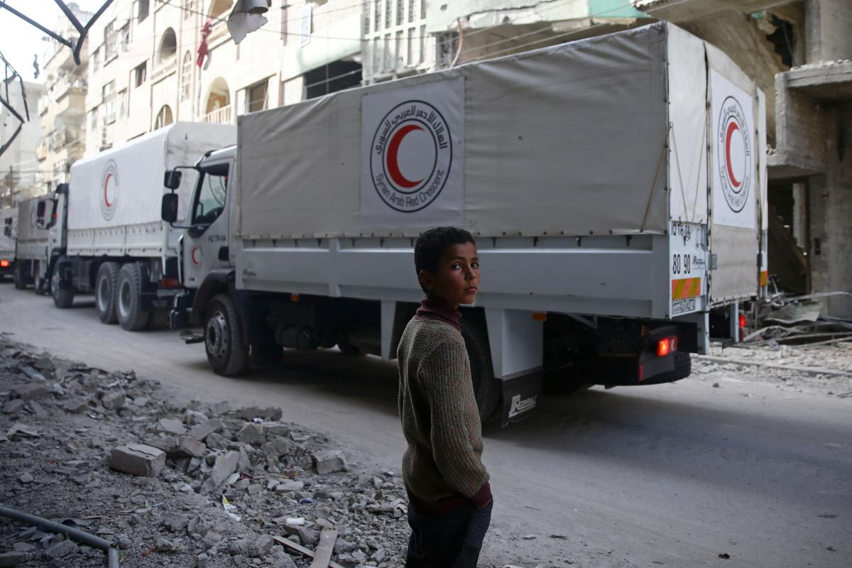 Massive humanitarian aid for Syria's needy not enough: UN