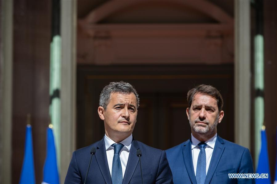 France's Macron replaces ministers of interior, environment in gov't reshuffle