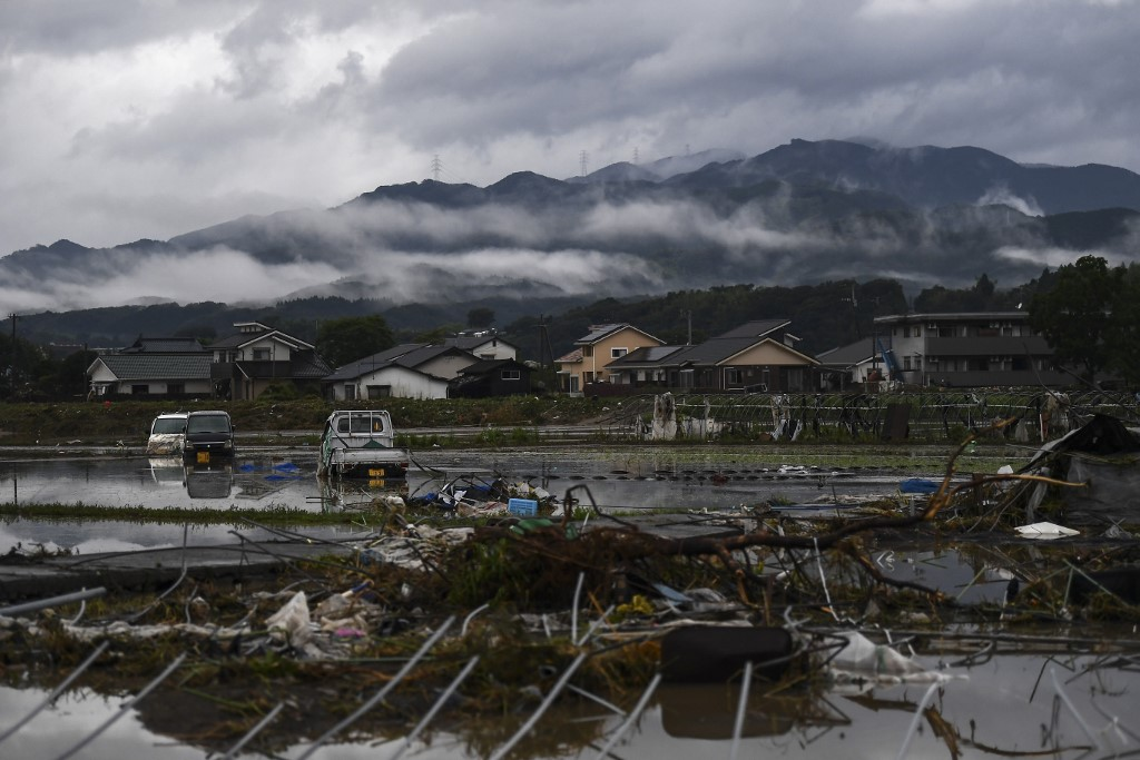 Death toll rises to 55 in deluge-hit southwestern Japan as gov't may declare crisis 'extraordinary disaster'