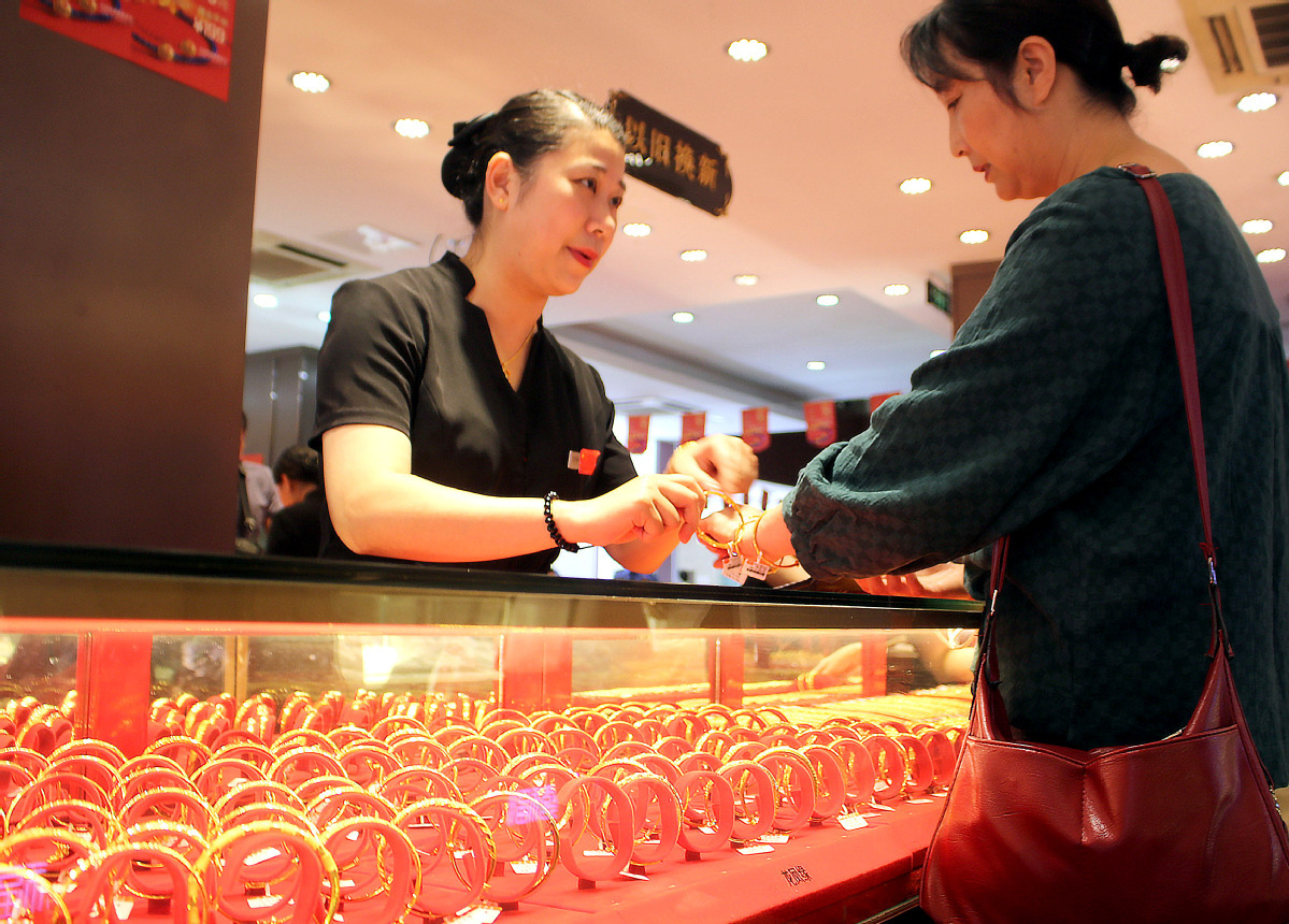 Shanghai gold futures close higher