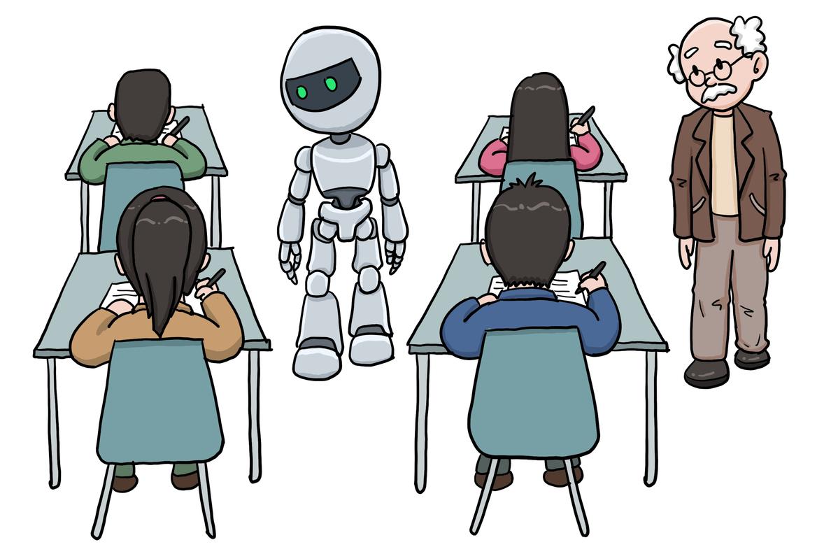 No cheating in gaokao, AI is watching