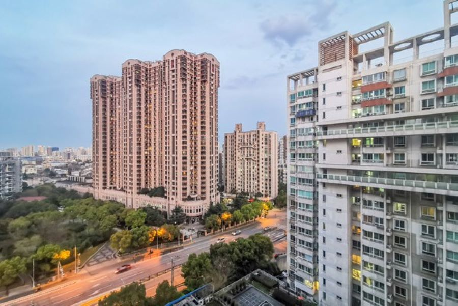 More Chinese cities see resold home prices up in June