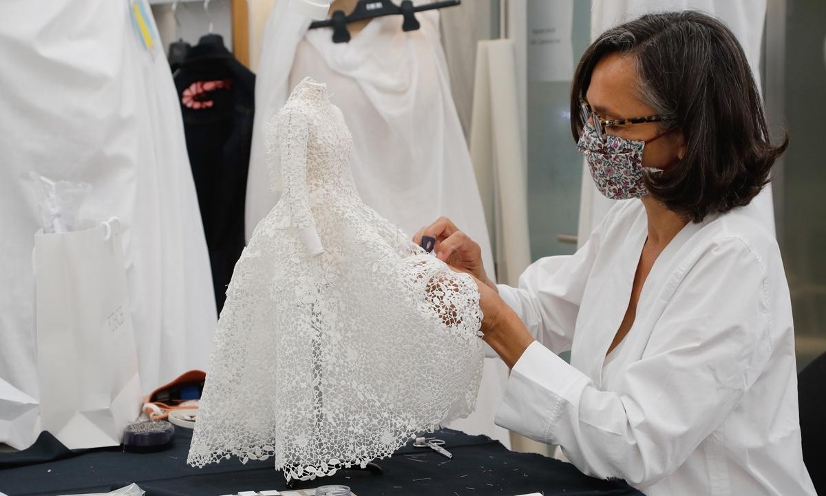 Dior strikes gold as Paris fashion makes mixed virtual debut