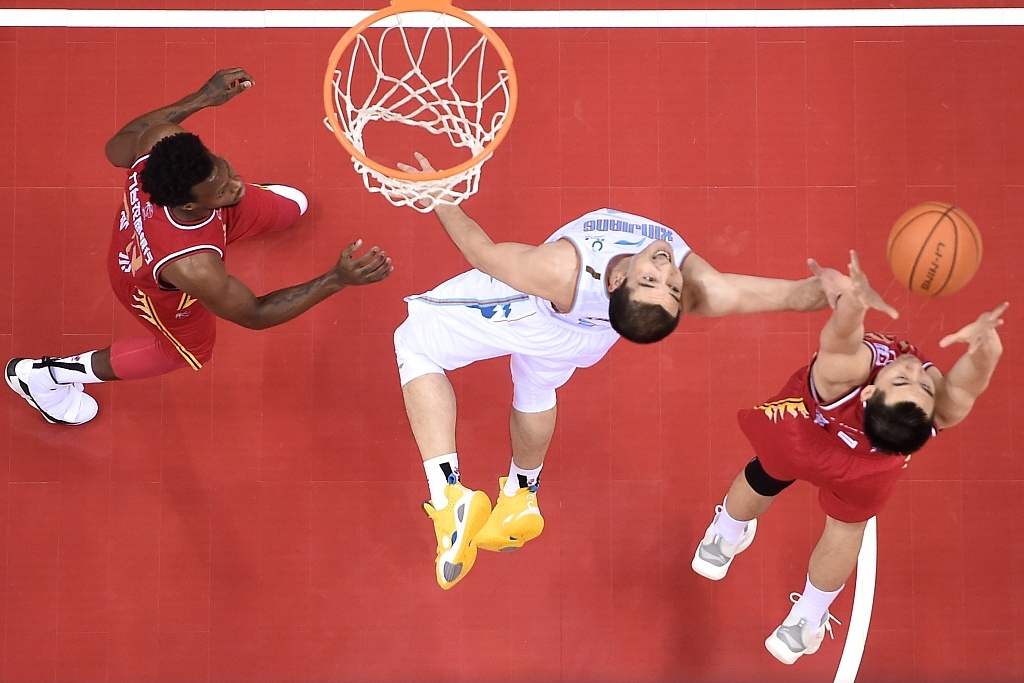 CBA highlights on July 7: Xinjiang edge past Jilin by one point
