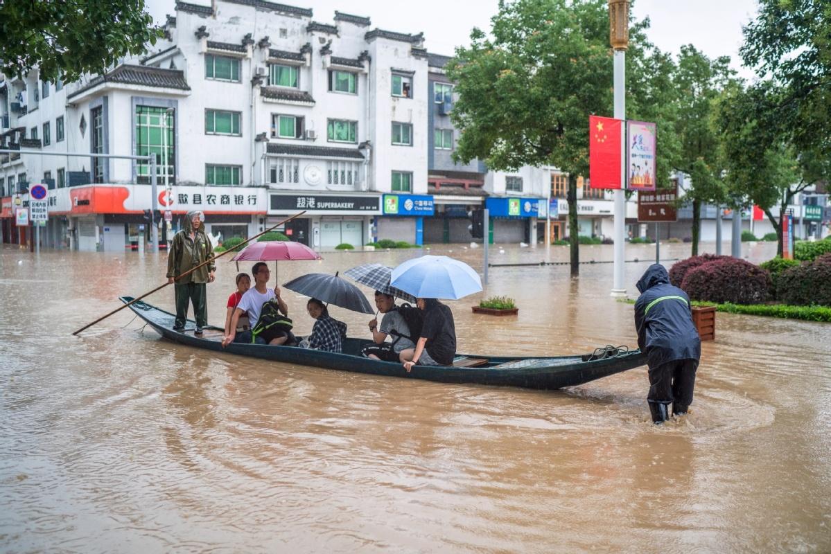 Flooding adds to gaokao