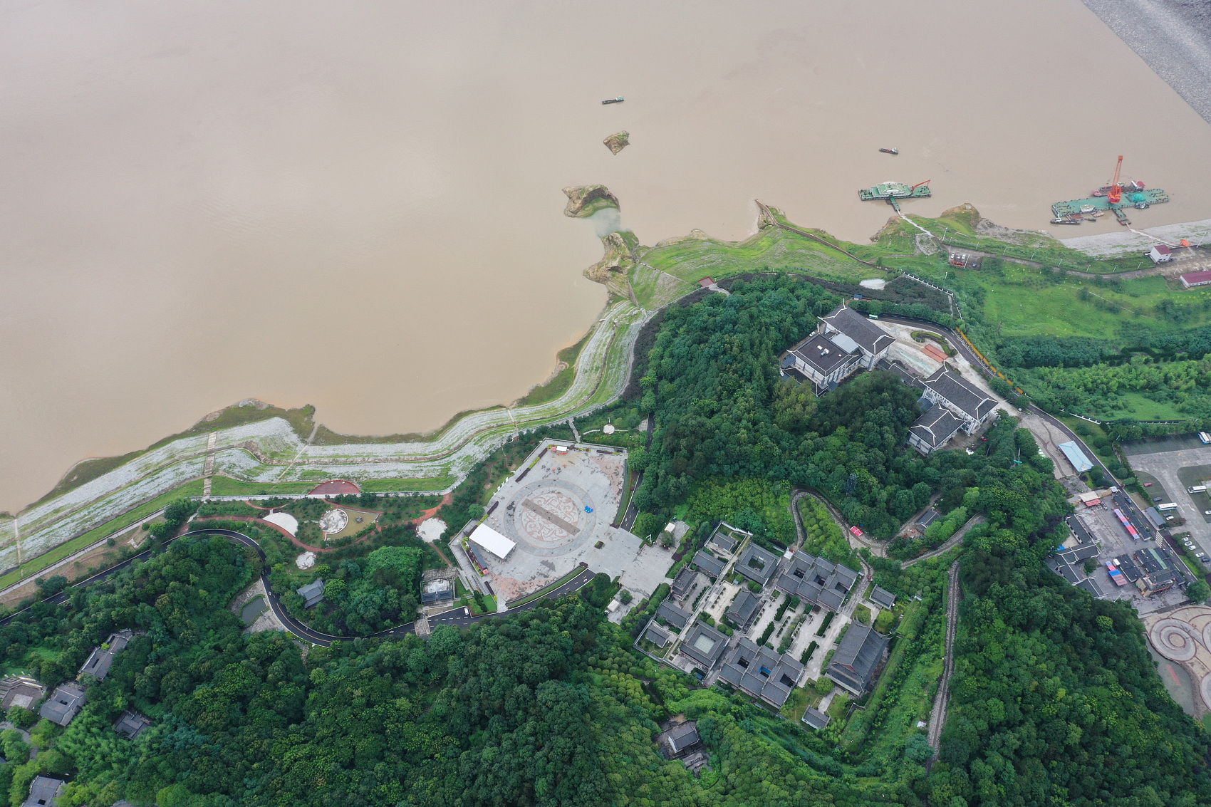 Three Gorges Dam yet to hit full flood storage capacity: operator