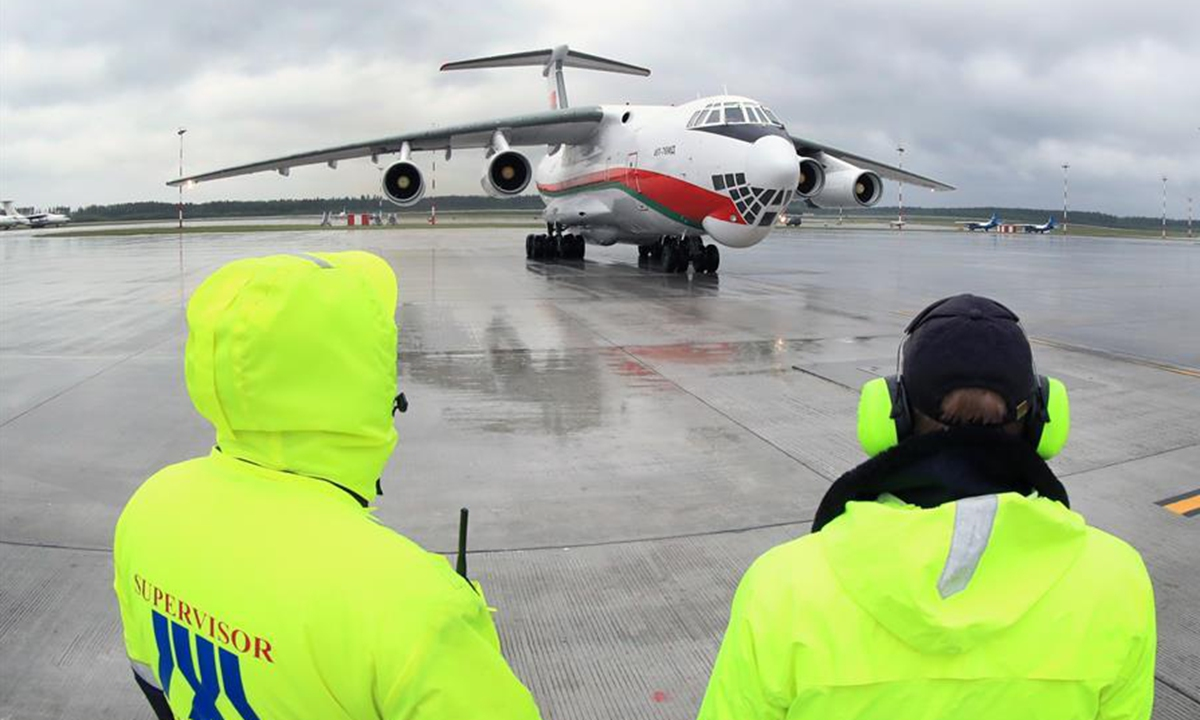 China's first aircraft with homegrown high-speed satellite internet system makes maiden flight