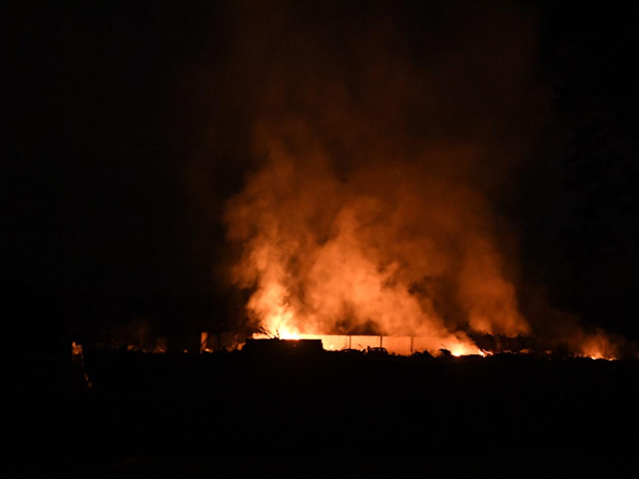 Fireworks plant blast injures 6 in Southwest China
