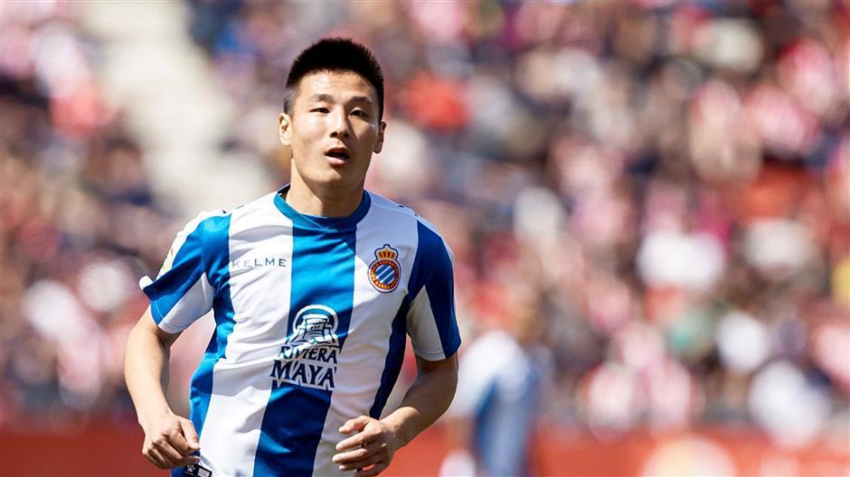 Fans debate Wu Lei's future after Espanyol relegation