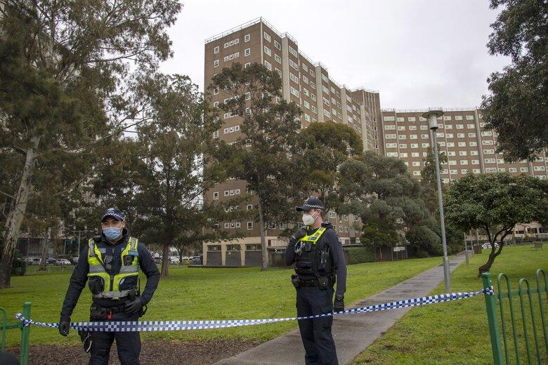 Five million begin lockdown in Australian city