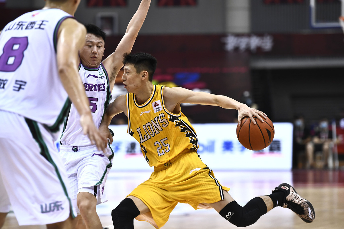 Victory over Shandong Heroes sends Zhejiang Lions into playoffs