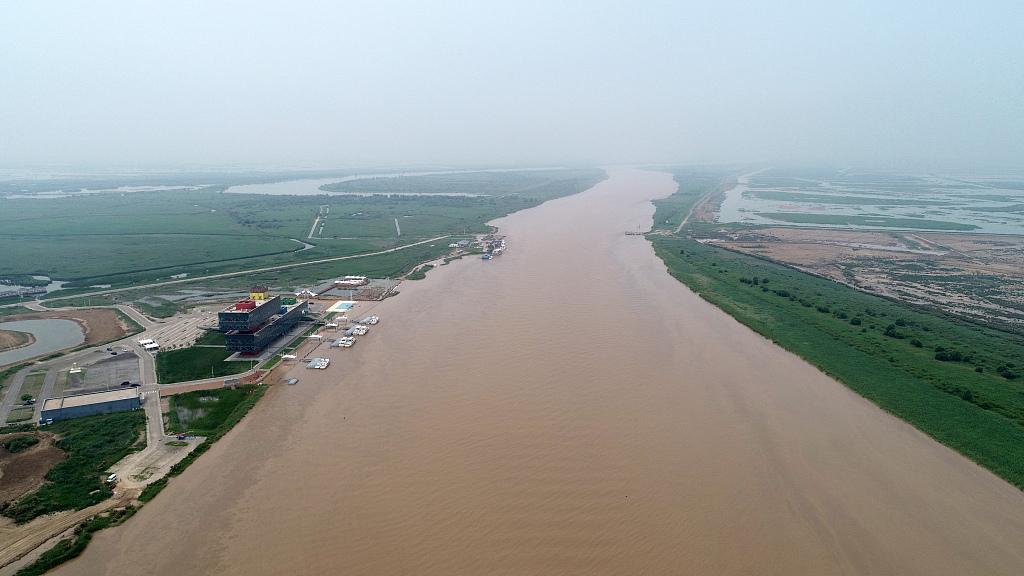 China's Yangtze River on alert for floods