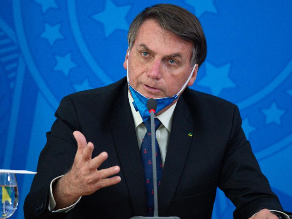 Brazilian president reiterates need to reopen country