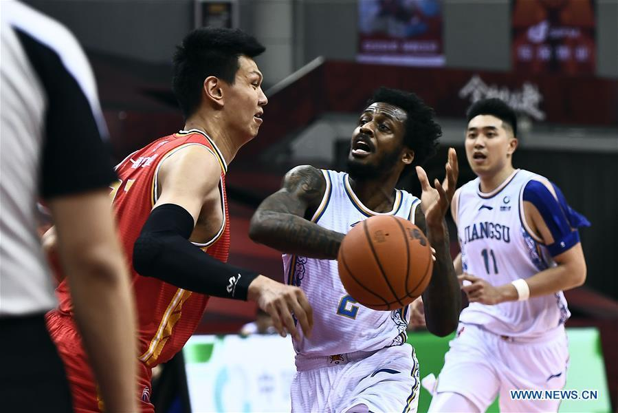 Zou's double-double helps Bayi rally past Jiangsu in CBA