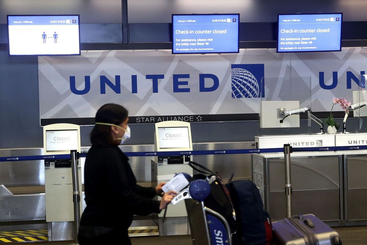 United says it may lay off 36,000 employees