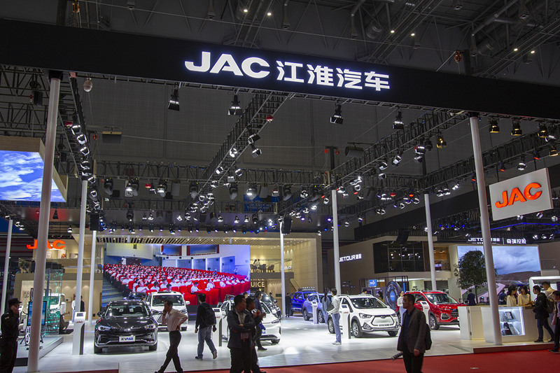 Chinese automaker JAC sees rising sales in June