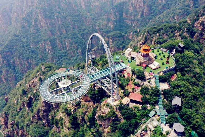 Breathtaking beauty of Shilin Gorge