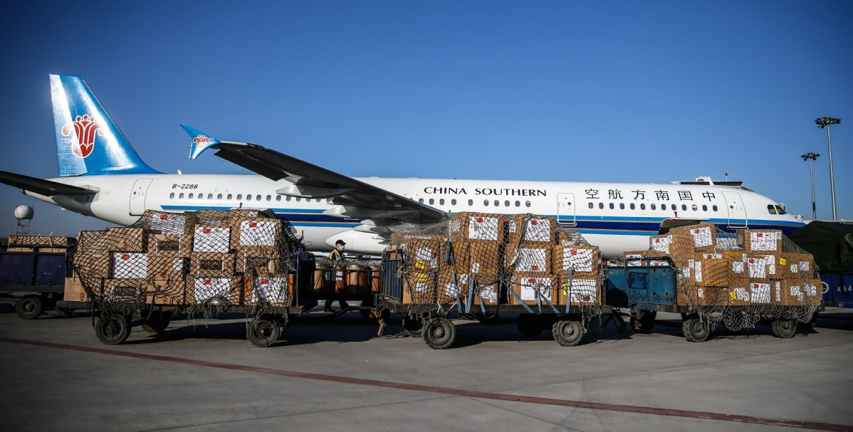China sees improvement in air cargo capacity