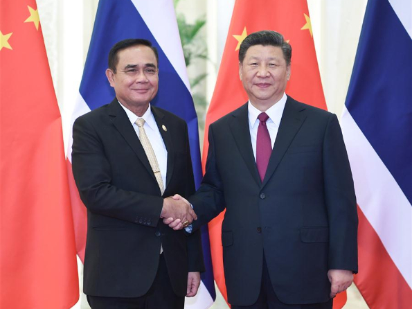 Xi pledges cooperation with Thailand for regional solidarity, prosperity