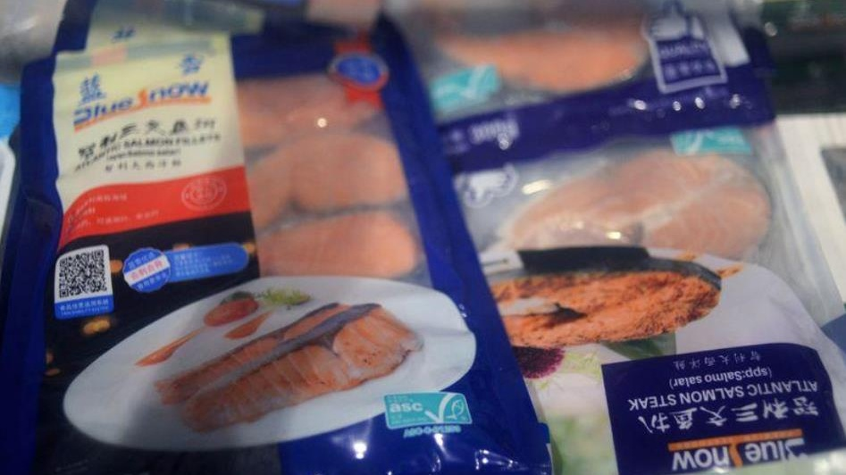 European salmon sales to China slowly recovering after virus scare