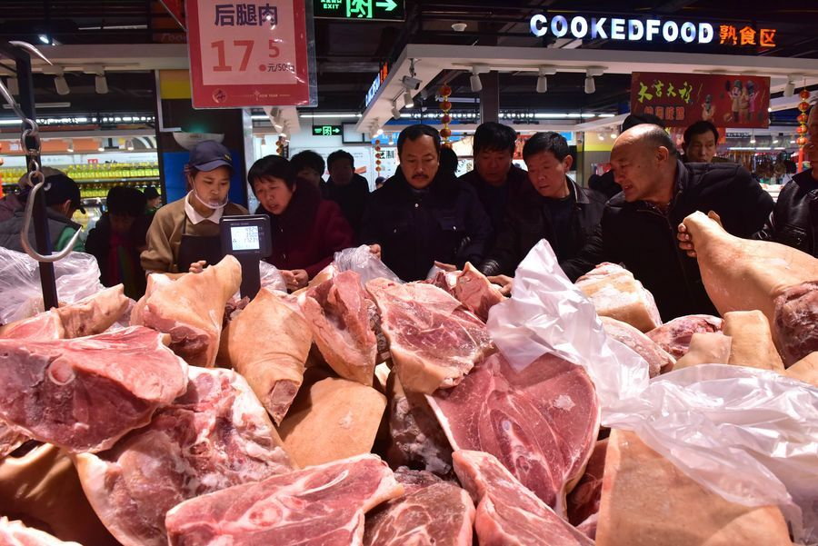 Pork prices in China edge up