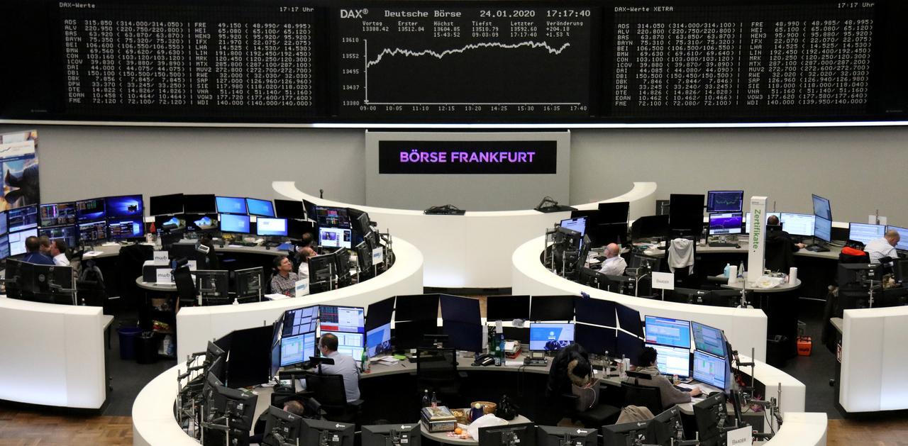 European stocks drop at open on fresh virus fears