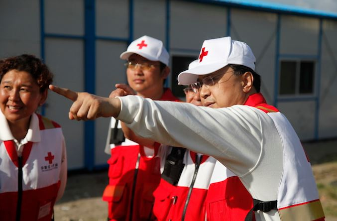 Red Cross Society of China assists flood-affected regions
